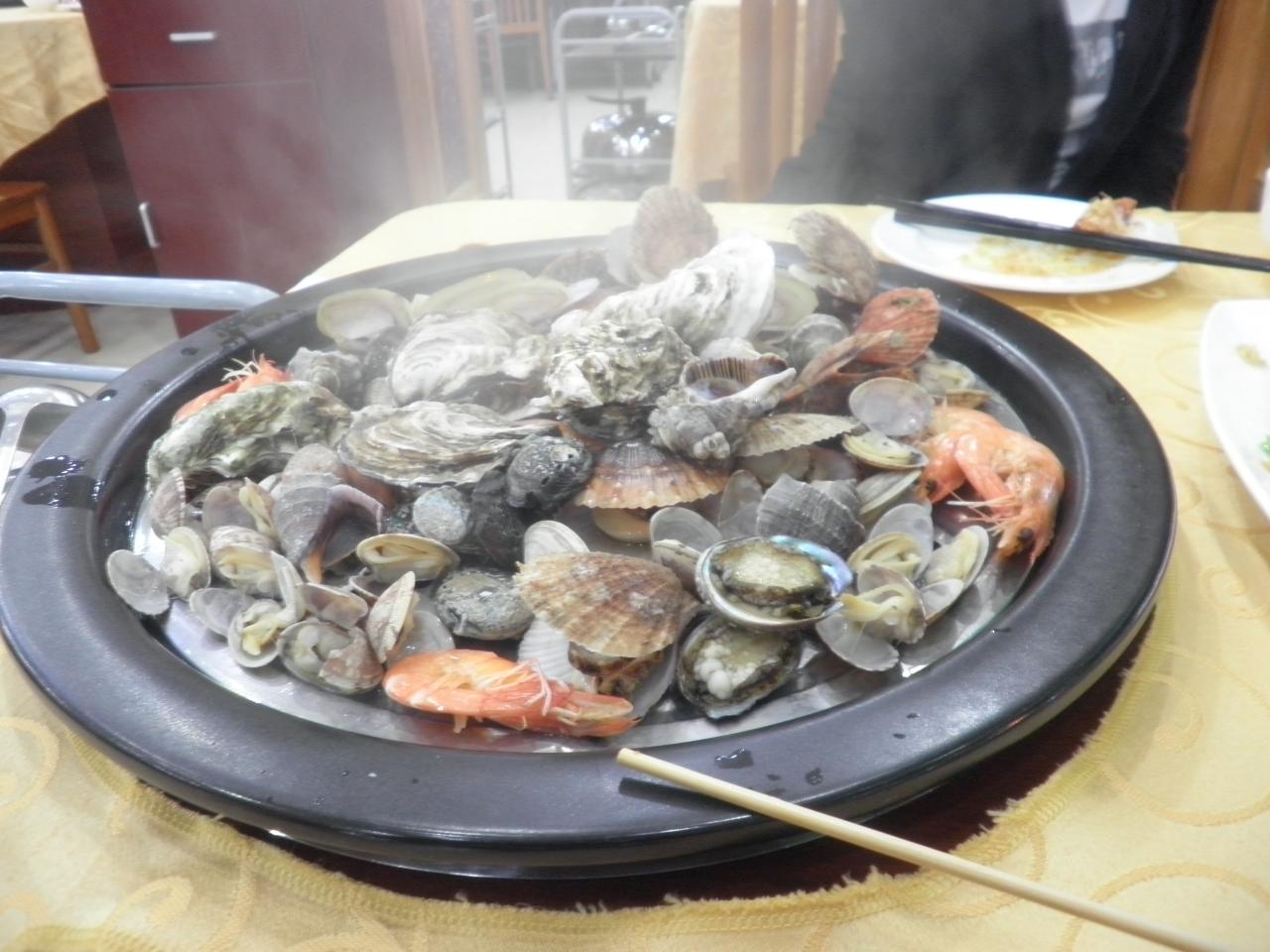 桜前線2017・青島遠征(海鮮料理に舌鼓)
