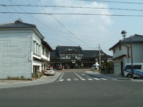 旧大社駅 廃止されたJR大社線終点「大社駅」 島根県出雲市