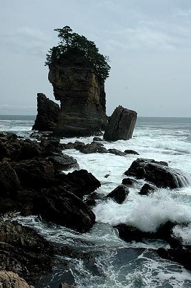 ★春の東北旅行(2) −宮古から北山崎経由で薬研温泉へ