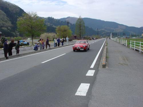 今年もクラシックカーがやってきた2006。