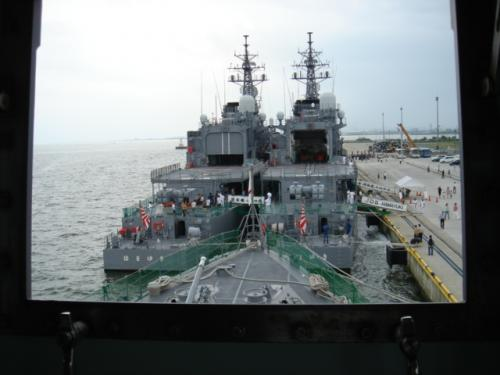海上自衛隊 自衛艦の公開