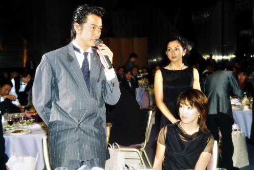 結婚当初の高島礼子と高知東生