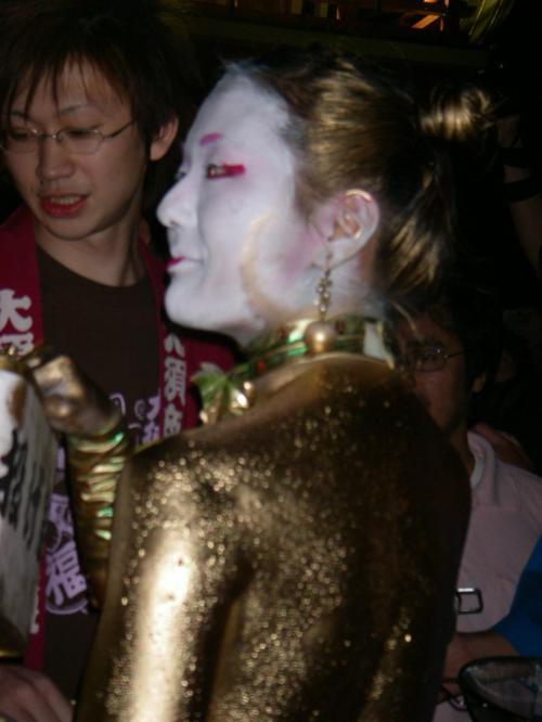 『大須大道町人祭りは金粉ショーで〆るのだ!!』 [愛知]の