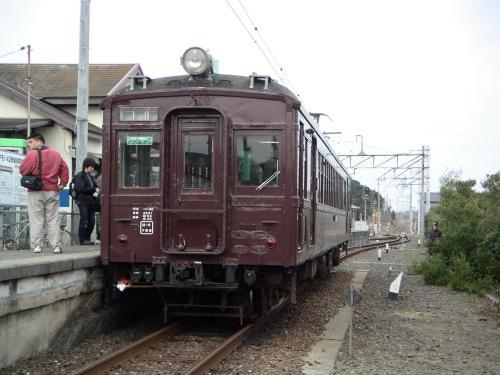 古い電車に乗りにいきました。