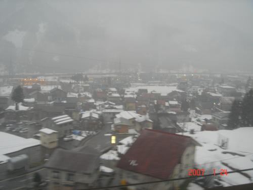 2007.01.24 那須烏山から長岡への出張(その3 西那須野から大金温泉)