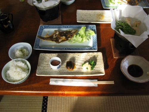 民宿美月2007朝食