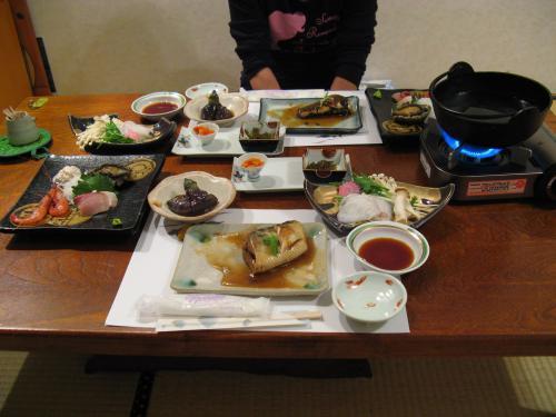 民宿美月2007夕食