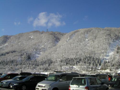 雪山@かぐら・みつまた・田代