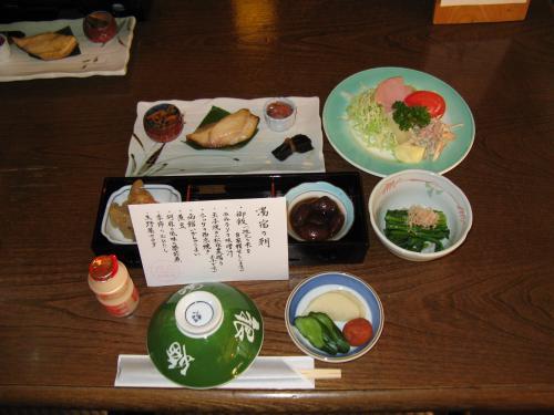 温泉旅館銀婚湯~朝食