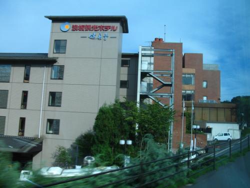 10三陸縦走 浪板観光ホテル ☆片寄せ浪はワイキキと同じ?
