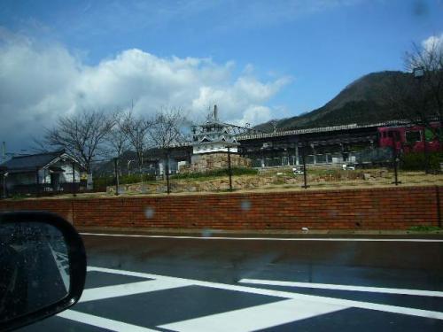 道の駅・但馬楽座「吹雪の但馬・竹田城の旅 その5」
