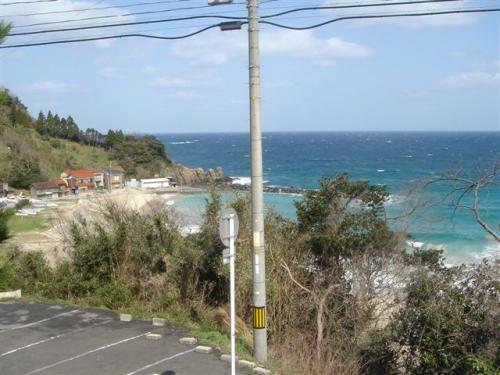 美保関の海岸