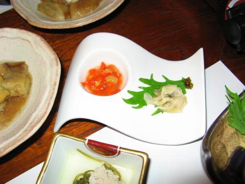 民宿美月2007秋~夕食