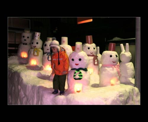 ふたりの旅行 ★BEST PHOTO  日本有数の豪雪地帯「雪だるま祭り」石川県白山市