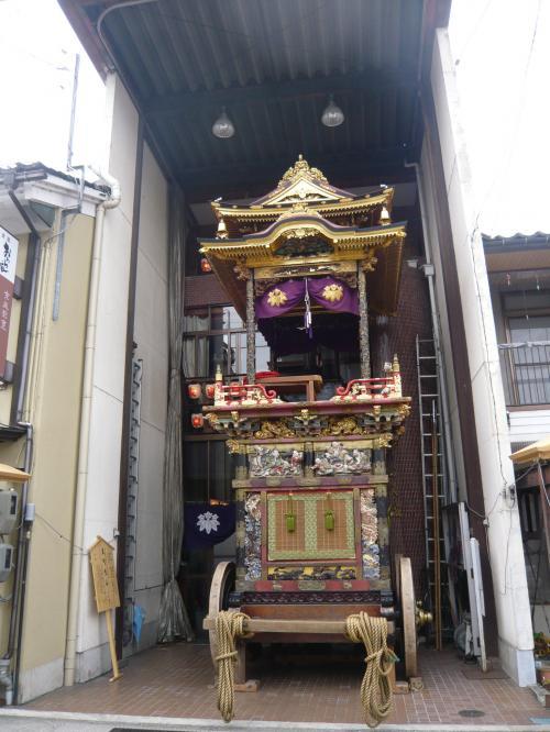 2008年GW・富山へドライブ《その3》◆八尾の曳山と周辺の滝