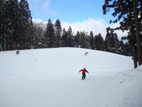 いちご大福とスキー
