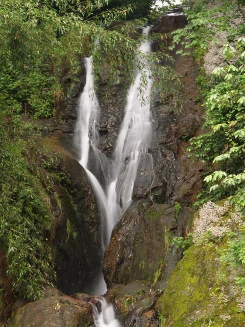 滝めぐりシリーズ72 雨中の滝めぐり修行 兵庫県養父市大屋町