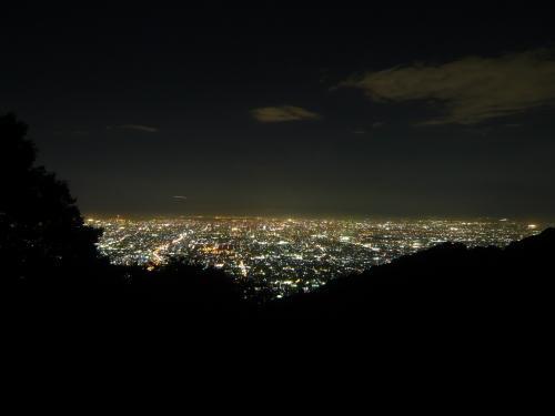 大阪の夜景◆信貴生駒スカイラインからの展望