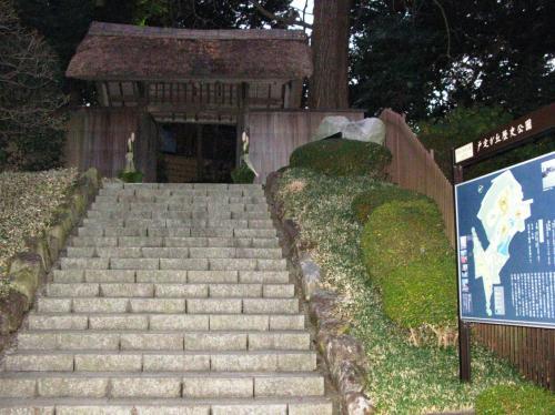 水戸藩主・徳川昭武ゆかりの戸定邸 ☆庭園の開放日に中り