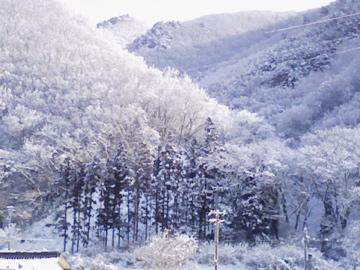 磐梯熱海の冬