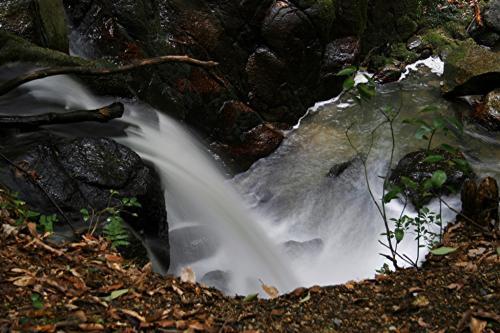 水すだれ探訪 #41~滋賀県(3)~九品の滝(栗東市)