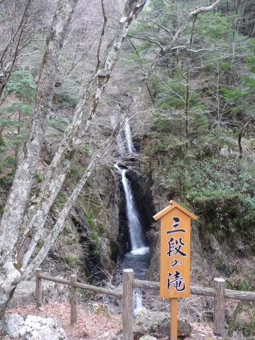 梅ヶ島温泉にある観光滝『三段の滝』◆静岡の滝紀行【その3】
