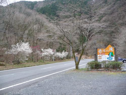 安倍の大滝よりも豪快?『赤水滝』◆静岡の滝紀行【その4】