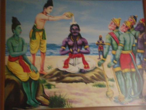 海の向こうはスリランカ、聖なる...
