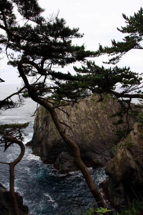 2009・東北ぶらり旅 4日目 ~碁石海岸を散策~