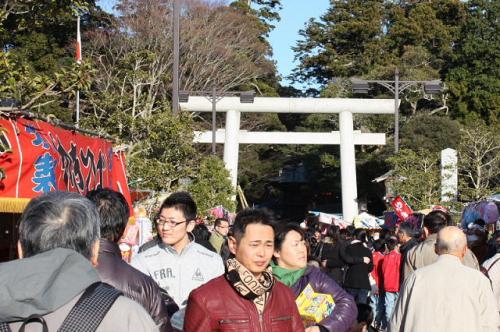 鹿島神宮に初詣 [2010]