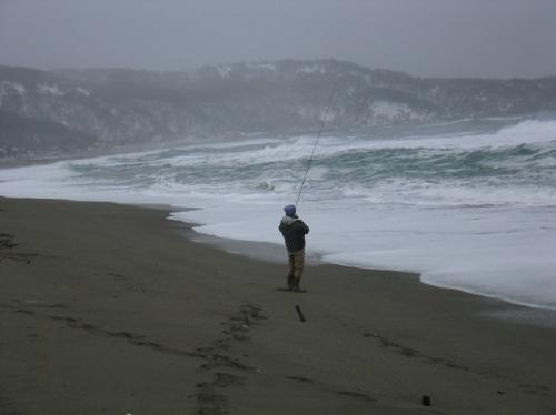 道南釣りの旅-2010-/海釣りスタート、なかなか結果が出ない