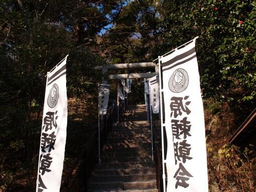 鎌倉の石碑巡り(2)-八幡宮から朝夷奈切通