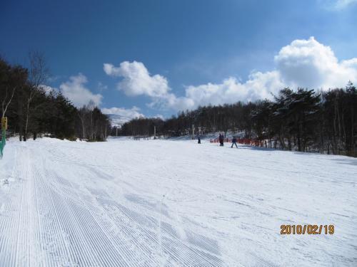 日帰りで蜂の原高原スキー