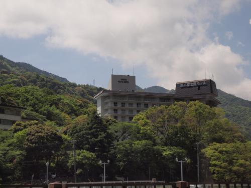 2010年5月 湯本富士屋ホテルで満足のランチバイキングを楽しみました。