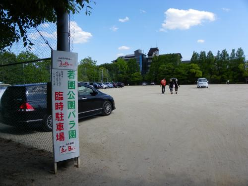 『若園公園バラ園』(大阪府茨木市)
