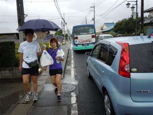 富里すいかマラソン 暑さのなかの大会