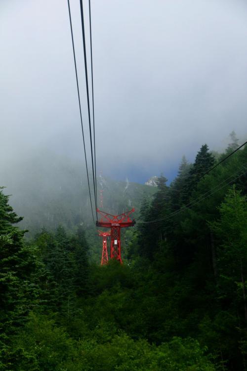 2010年 長野旅行 1日目 (木曽駒ケ岳~白骨温泉) 07.28