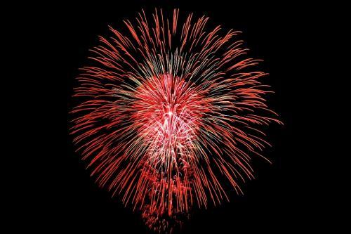 大曲の花火と出羽三山(1) 大曲の花火①