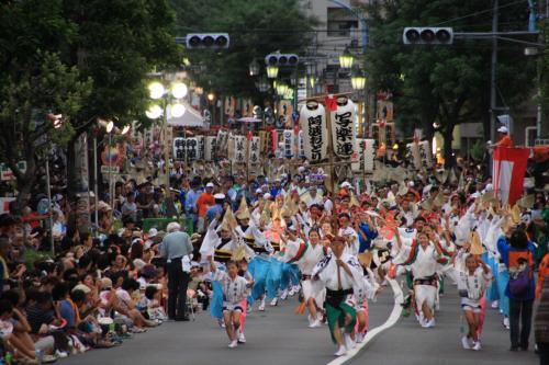 夏の終りの風物詩 高円寺阿波踊り 2010