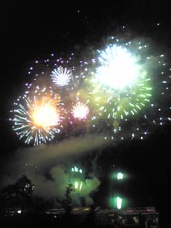 相生ペーロン祭り 海上花火大会