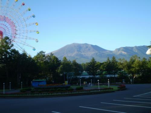 9月の浅間山とキャべチュー