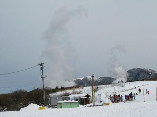 スキー&温泉