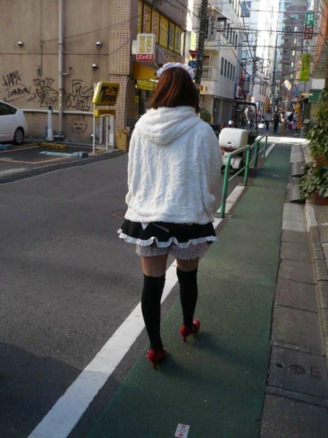 メイドさんの案内で行く秋葉原散歩と、ドキドキ「メイドカフェ」体験 ー付・本日の「東京スカイツリー」584mー