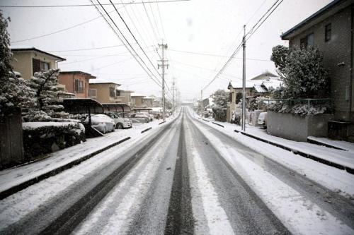 山里歩き☆まるで雪国・・今年はじめての雪の日 愛知池・愛知牧場