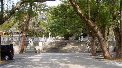 阿波国一の宮 大麻比古神社参拝