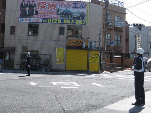 計画停電実施中☆近所の様子☆2011/03/16