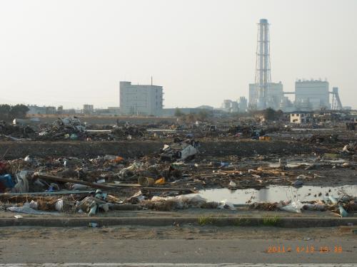 東日本大震災から一ヶ月 その1福島編