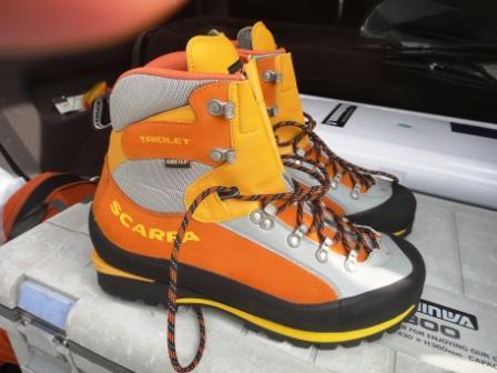 新しい登山靴で藤原岳登山