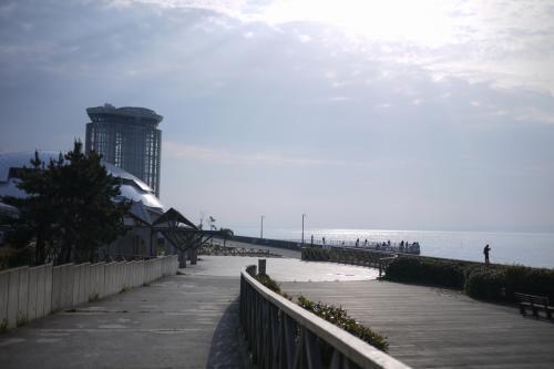 2011・春 山陰の旅 ◆ 1日目 美保関と宍道湖の夕日