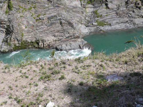 新緑の飛水峡